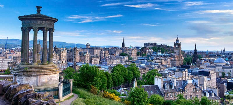 Car hire in Edinburgh