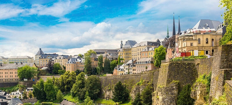 Car hire in Luxemburg