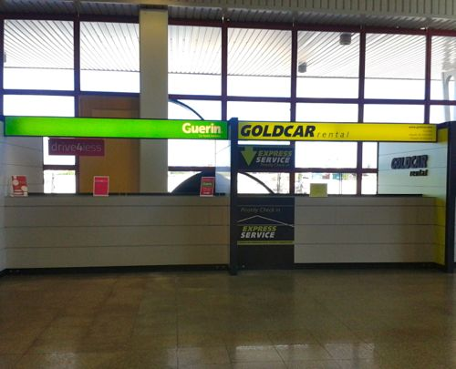 Collecting A Car Hire At Faro Airport