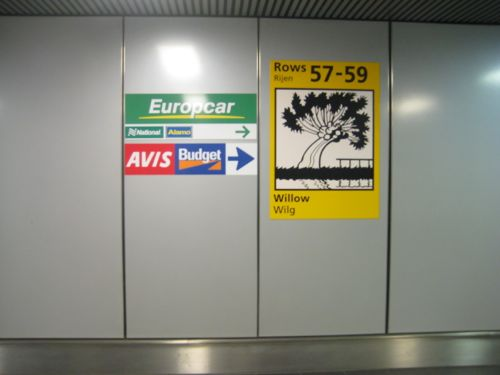 Avis Car Hire Schiphol Airport Collecting A Car Hire At Amsterdam Airport Schiphol Returning A
