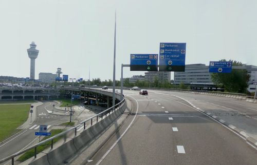 Returning A Car Hire To Amsterdam Airport Schiphol