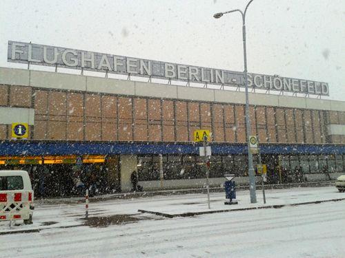 Arriving into berlin sch nefeld airport for Berlin tegel rent a car