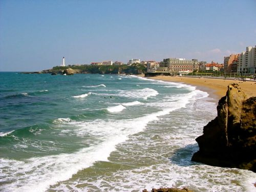 Biarritz, France - Beach time in French Basque country - Biarritz car hire