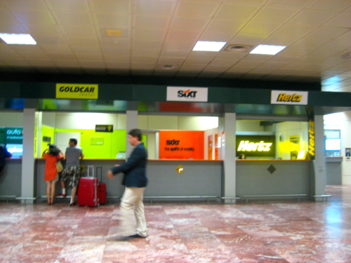 collecting your car hire from bologna airport. Black Bedroom Furniture Sets. Home Design Ideas