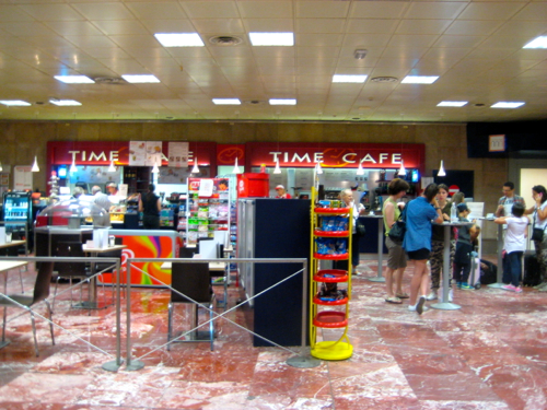 Bologna, Italy - Bologna Airport, Time Cafe - Bologna Airport car hire