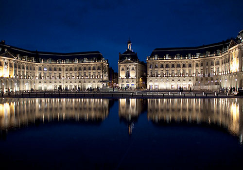Bordeaux, France - Palais de la Bourse - Bordeaux car hire