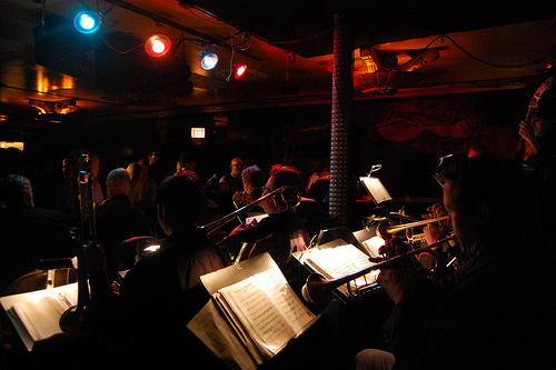 Chicago, USA - big band at the Green Mill - Chicago car hire