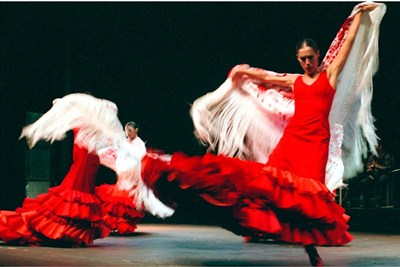 Flamenco in Madrid which is home to the fiery dance: Madrid Airport car hire