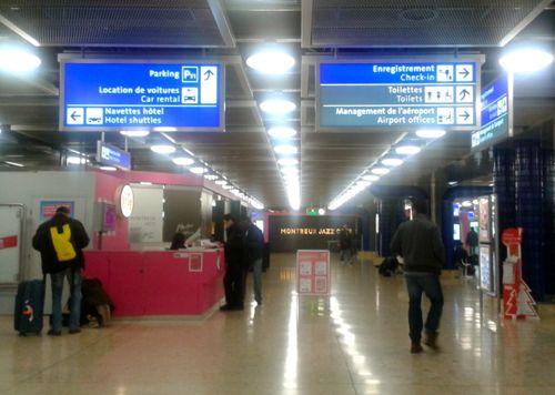 Collecting A Car Hire At Geneva Airport