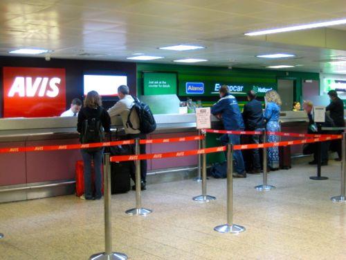 Enterprise Car Rental At Glasgow Airport