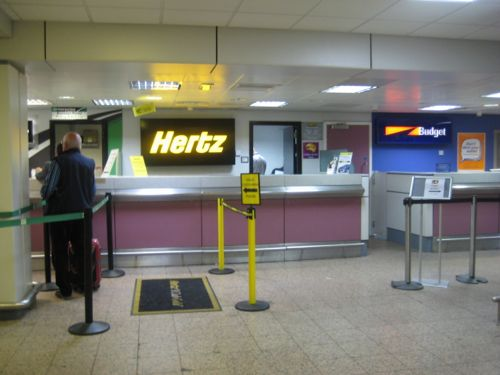 Hertz Car Hire At Glasgow Airport