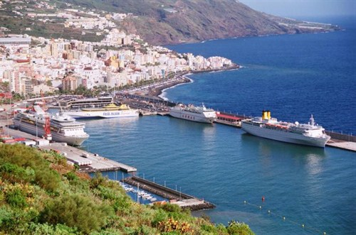 La Palma Canary Islands - Santa Cruz de La Palma Port: La Palma car hire