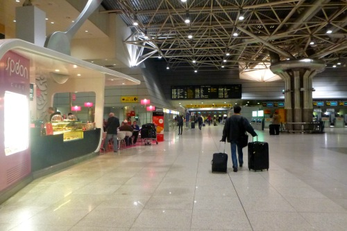 Lisbon, Portugal - Departures T1 Spoon Cafe - Lisbon Airport car hire