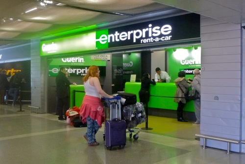 Enterprise Car Rental Porto