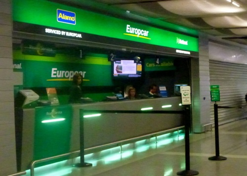 Collecting A Lisbon Airport Car Hire