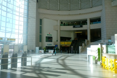 Lisbon, Portugal - Rotunda - Lisbon Airport car hire