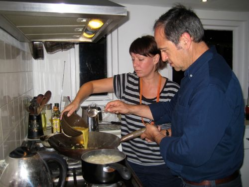 London - cooking with Franco - London car hire