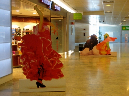 Madrid Airport T1 Departures - Thinking Espana: Madrid Airport car hire