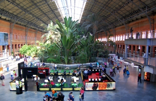 Madrid Atocha Railway Station - Jungle: Madrid Atocha Station car hire