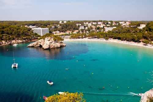 Menorca, Spain - Cala Galdana beach - Menorca car hire