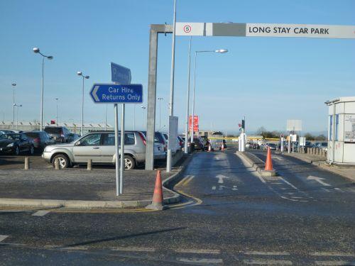 Belfast City Airport Car Hire Desks