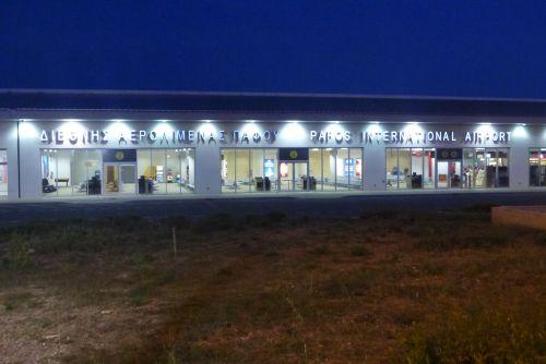 Paphos Airport Car Hire Desks