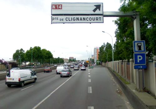 Returning a car hire to paris gare du nord - Porte peripherique paris ...