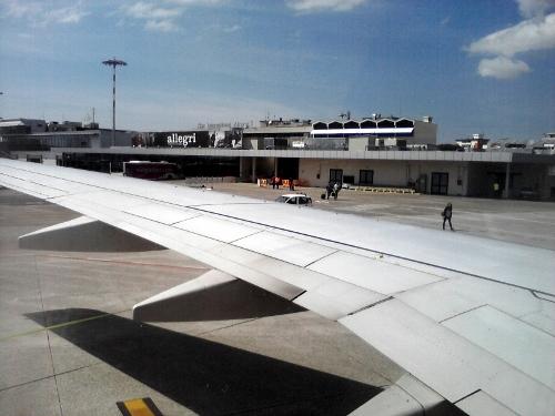 Pisa Airport Car Rental Building