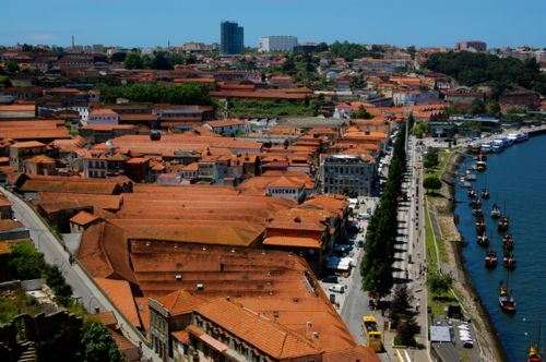 Porto, Portugal - Port cellars in Gaia - Porto Airport car hire