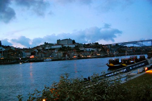 Porto, Portugal - view from Ar de Rio- Porto Airport car hire