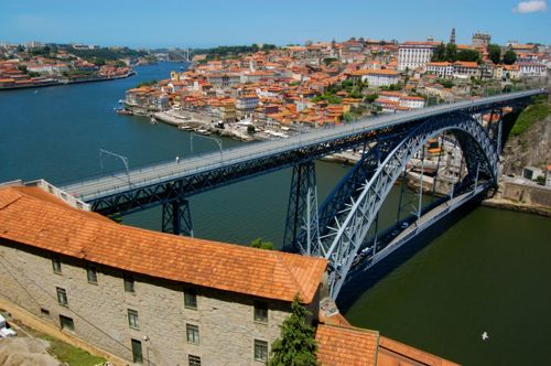 Porto, Portugal - view from serra do pilar - Porto car hire