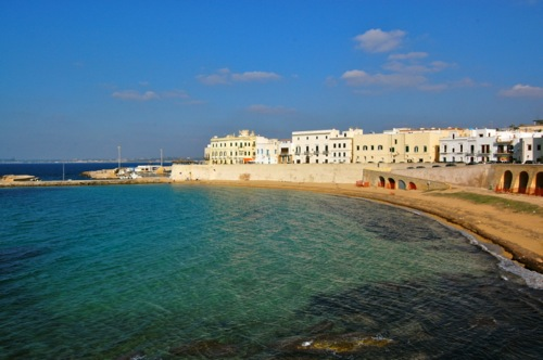 Puglia, Italy - Gallipoli views in the old town - Brindisi Airport car hire