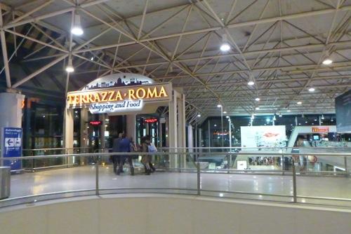italy   departures t3 terrazza roma   rome fiumicino airport car hire