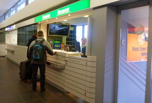 Hertz Car Rental Salzburg Airport