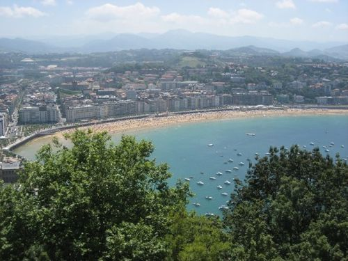 San Sebastian near Bilbao, car hire Bilbao Airport, car hire San Sebastian