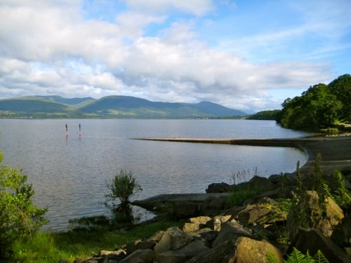 Scotland - The still at Loch Lomond - UK car hire