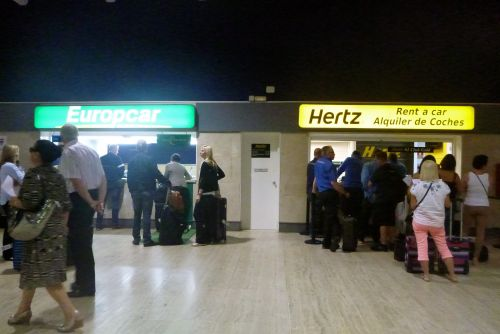 Collecting A Seville Airport Car Hire