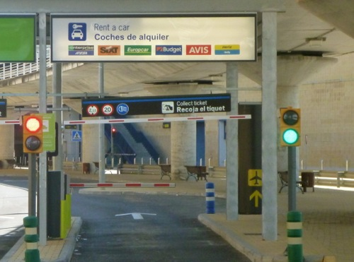 Returning A Car Hire To Seville Airport