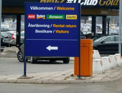 Car Rental In Stockholm Arlanda Airport