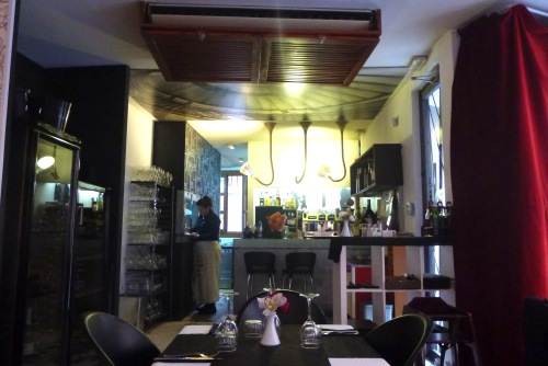 Valencia, Spain - La Pizca de Sal bar area - Valencia Airport car hire
