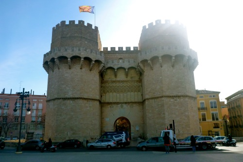 Valencia, Spain - Torres de Quart - Valencia Airport car hire