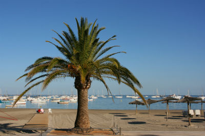The golden sands of San Javier's beachfront await you - rent a car from Murcia Airport car hire today