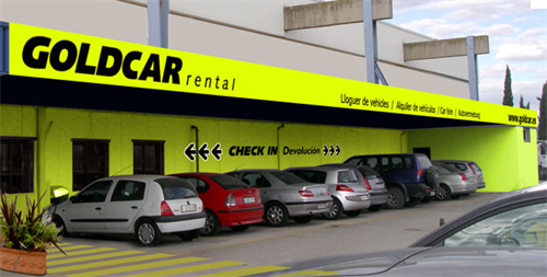 The Goldcar car rental office is off-airport at Barcelona but still offers our customers a great service.